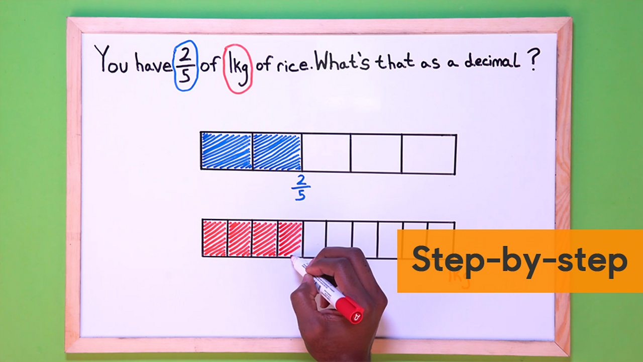 hight resolution of How to convert fractions to decimals - BBC Bitesize