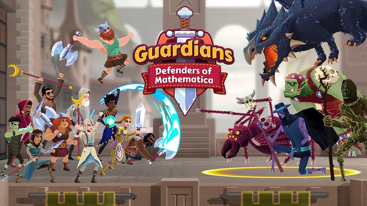play guardians maths game