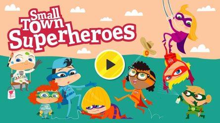 Play Small Town Superheroes KS1 Literacy English Free Online Game for Kids BBC Bitesize