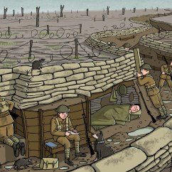 Ww1 Trench System Diagram Basic Automobile Wiring The Gallery For Gt Model