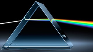 reflection ray diagram ks3 4 flat stpm light waves revision 6 physics bbc bitesize a beam of white passes through prism and changes into spectrum colours