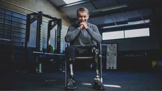 Billy Monger on Comic Relief Red Nose Day 2021