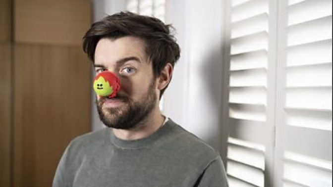 Jack Whitehall on Comic Relief Red Nose Day 2021
