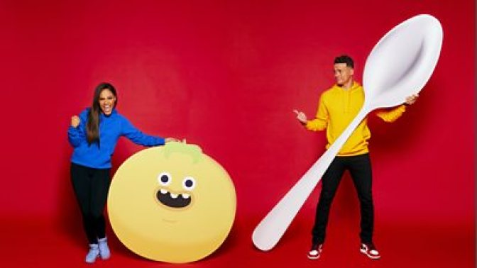 Alex Scott MBE, Jermaine Jenas on Comic Relief Red Nose Day 2021