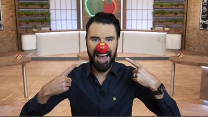 Rylan Clark-Neal on Comic Relief Red Nose Day 2021