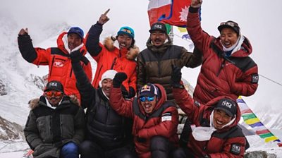 Conquering K2 in winter 'together' #world #BBC_News