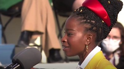 Inauguration poet Amanda Gorman: 'My life changed in six minutes' #world #BBC_News