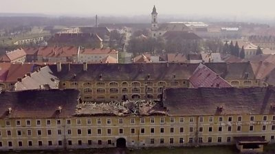 Terezin: The former WW2 ghetto falling into ruin #world #BBC_News