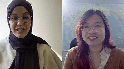Hijab regulations: Two women's experience #world #BBC_News