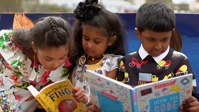 'Our library is like a lifeline for my family'