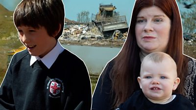 'My house and children's toys all smell of landfill'