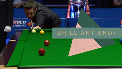 World Championship Snooker: Was this Mark Selby red the shot of the tournament?, Swahili Post