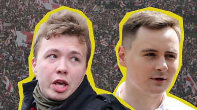 The BBC visits the colleagues of the arrested journalist, Roman Protesevich #world #BBC_News