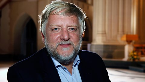 Simon Russell Beale, an actor and former chorister
