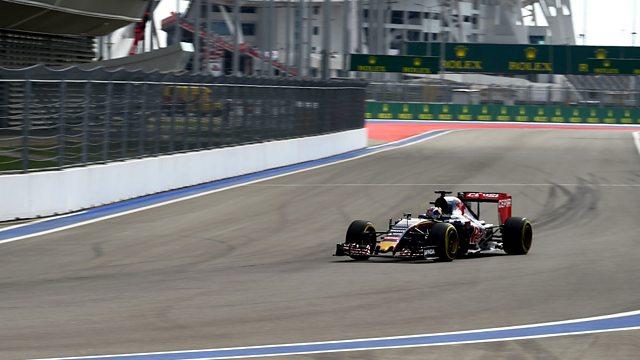 BBC Sport - Formula 1. 2015. Qualifying - Russia
