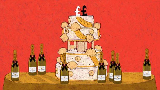 Expensive wedding