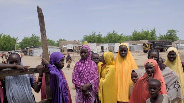 NIGERIAN DISPLACEMENT CAMP