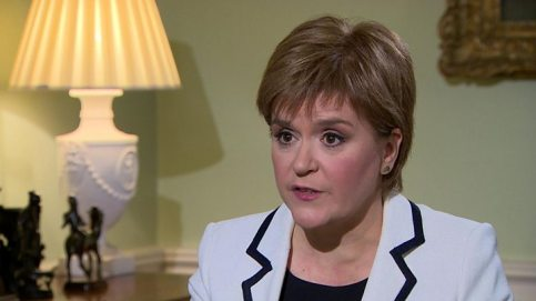 Image result for Scotland does not want Brexit, Nicola Sturgeon warns