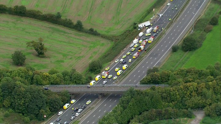 M5 crash: Three remain critically ill after four killed - image  on http://us-news.net