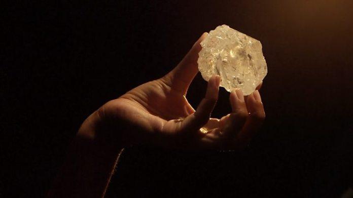 Le 2ème plus gros diamant de l'histoire trouvé au Botswana 1