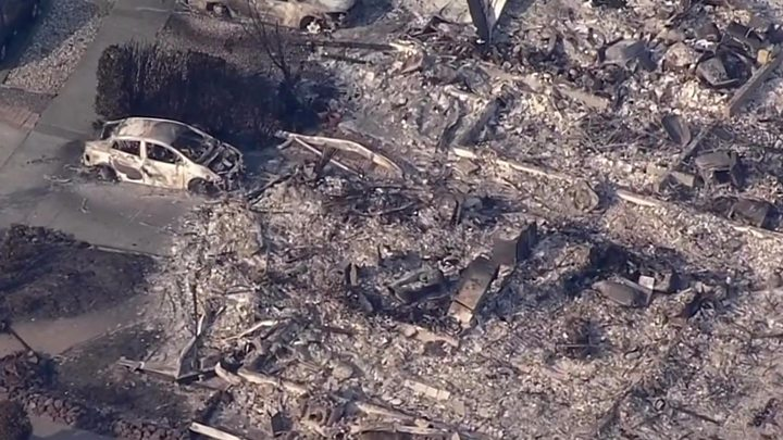California wildfires: Death toll climbs to 29 - image  on http://us-news.net