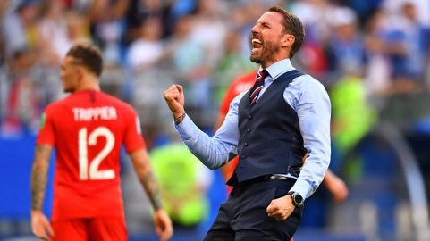 Image result for gareth southgate world cup