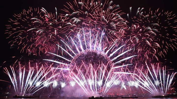 london counts down to