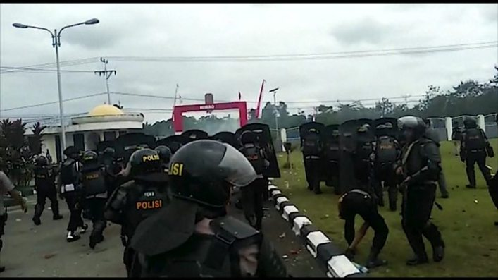 Papua protests: Racist taunts open deep wounds 1