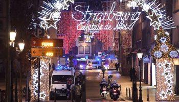 Strasbourg shooting: Gunman at large after two killed and 11 injured