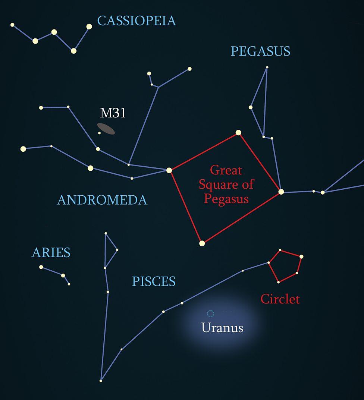 hight resolution of night sky guide october