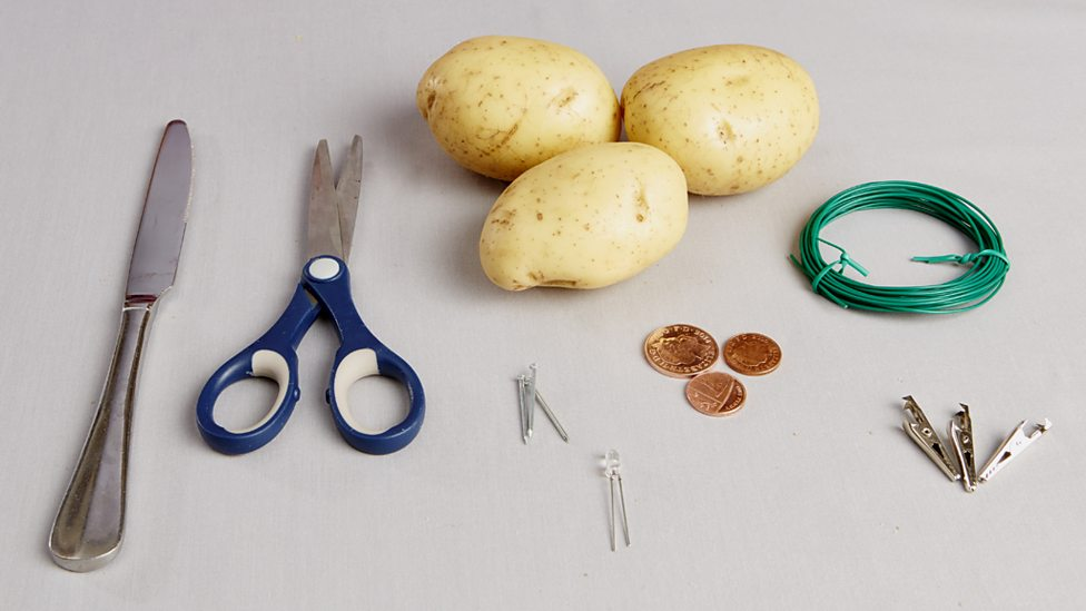 Potato Battery How To Turn Produce Into Veggie Power
