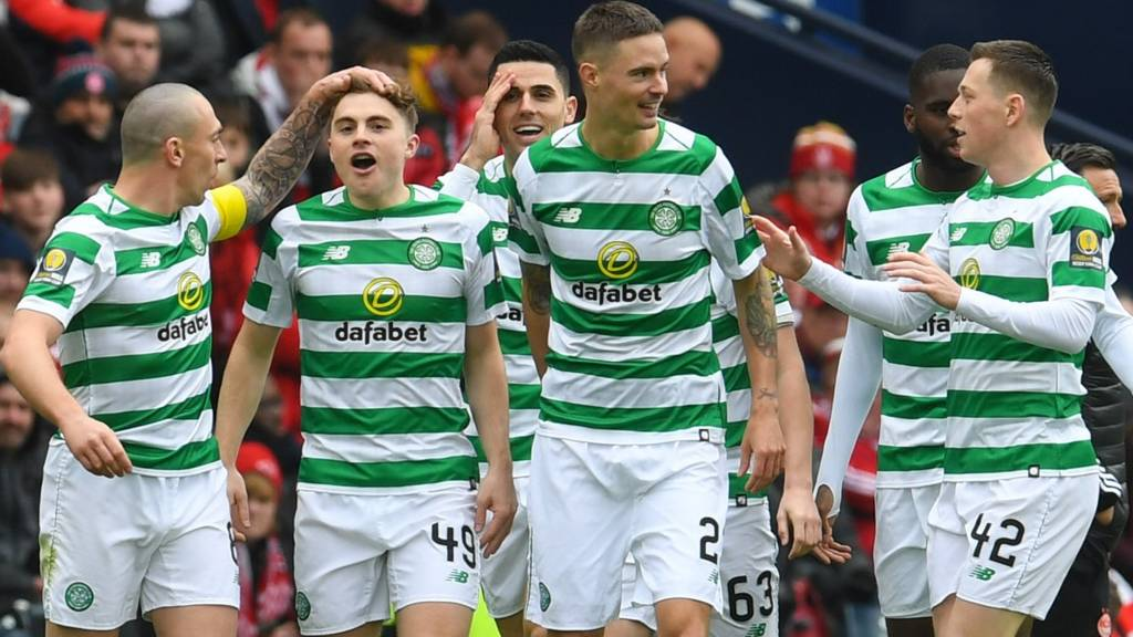 i reacted to celtic