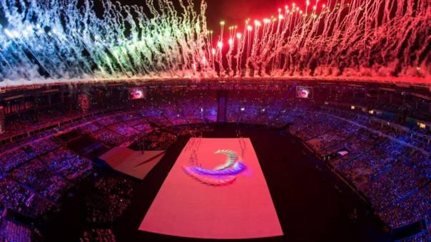 """Vaizdo rezultatas pagal užklausą """"rio paralympic games closing ceremony"""""""