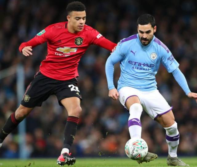 Manchester City V Manchester United Latest Carabao Cup Semi