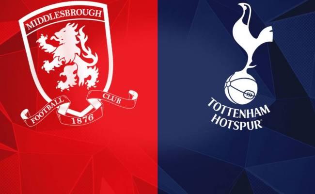 Premier League Middlesbrough V Tottenham Live Bbc Sport