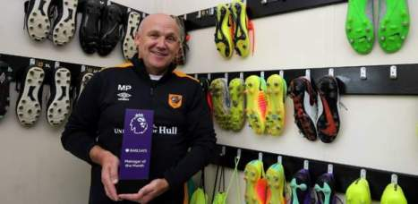 Hull City's Mike Phelan crowned August's @BarclaysFooty Manager of the Month: preml.ge/oqUckH
