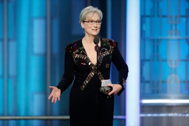 meryl criticise Donald Trump