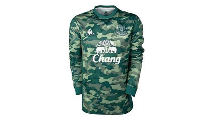 Everton kit 2011