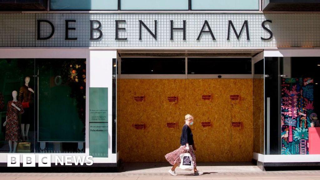 Coronavirus: Debenhams makes some restaurant employees redundant - BBC News