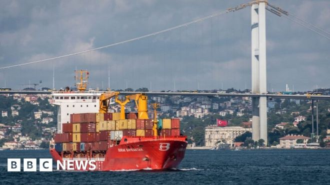 Turkey detains admirals who criticised giant Istanbul canal #world #BBC_News