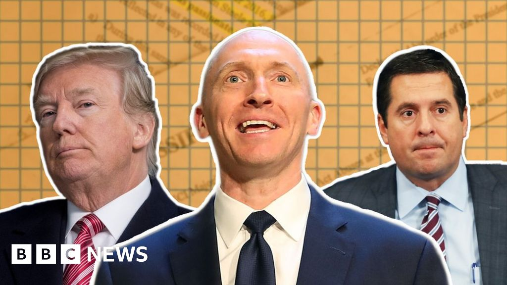 Nunes memo: Key extracts and what they mean - BBC News