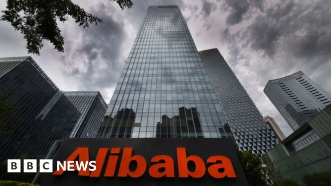 Alibaba being investigated by China over monopoly tactics #world #BBC_News