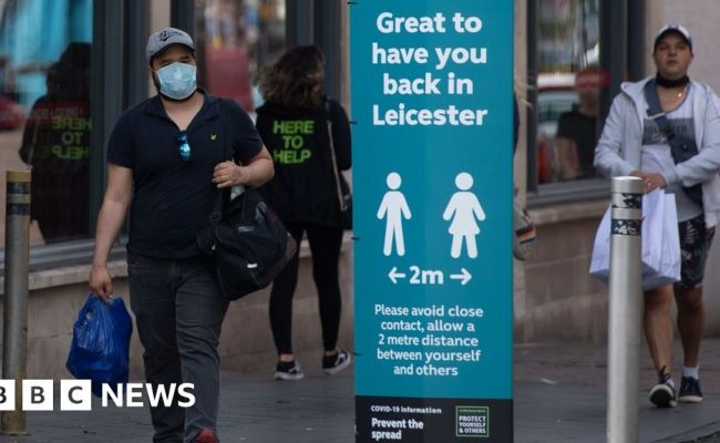 Leicester Lockdown Coronavirus Restrictions Could Be
