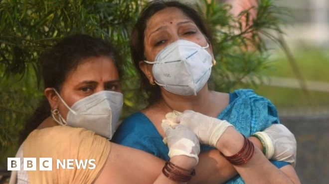 How India descended into Covid-19 chaos #world #BBC_News