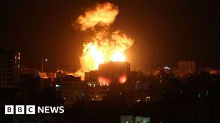 Israel-Gaza: Rockets pound Israel after militants killed #world #BBC_News