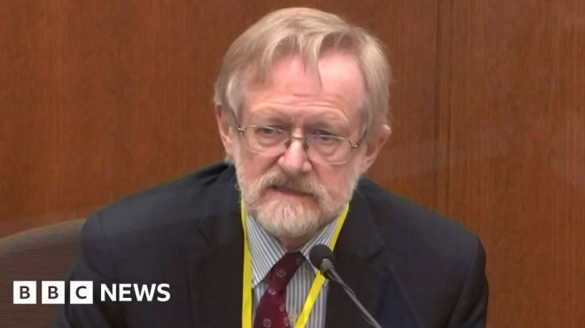 Expert says George Floyd died from lack of oxygen #world #BBC_News