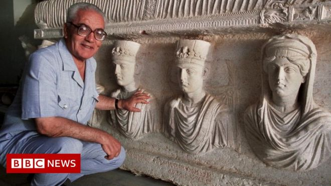 Syria 'finds body of archaeologist Khaled al-Asaad beheaded by IS' #world #BBC_News