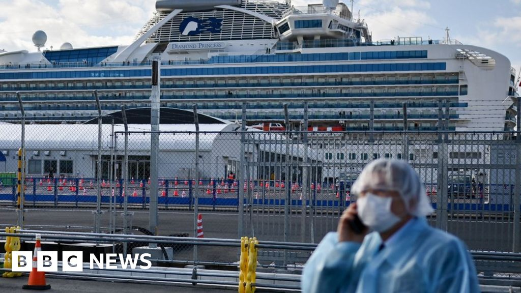 Coronavirus: Foreign Office tells Britons to stay on cruise ship ...