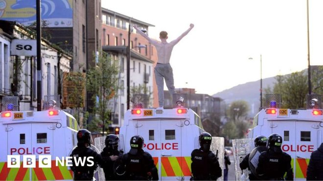 What is behind the violence in Northern Ireland? #world #BBC_News