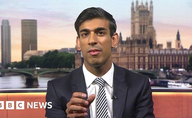 Rishi Sunak Government Spending More On No Deal Bbc News